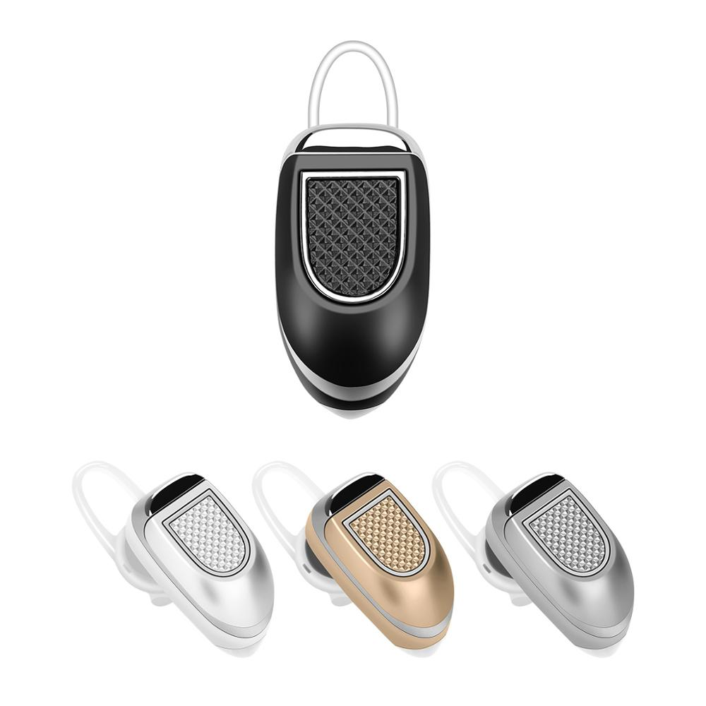 Fineblue mini car calls wireless Invisible headphone headset bluetooth 4 earbud Earhook earphone with Mic for iphone X 8 Plus GT