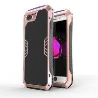 Luxury LUPHIE Brand Cavalier Aluminum Armour Metal Cases For IPhone 7 7 Plus Case Anti Knock