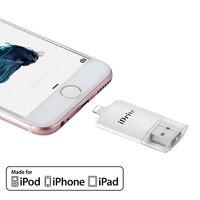 Plug and Play OTG 16 GB à 128 GB Externe téléphone lecteur flash bellek Mémoire Bâton Mobile Flash Drive Pen pour iPhone iPad smartphone