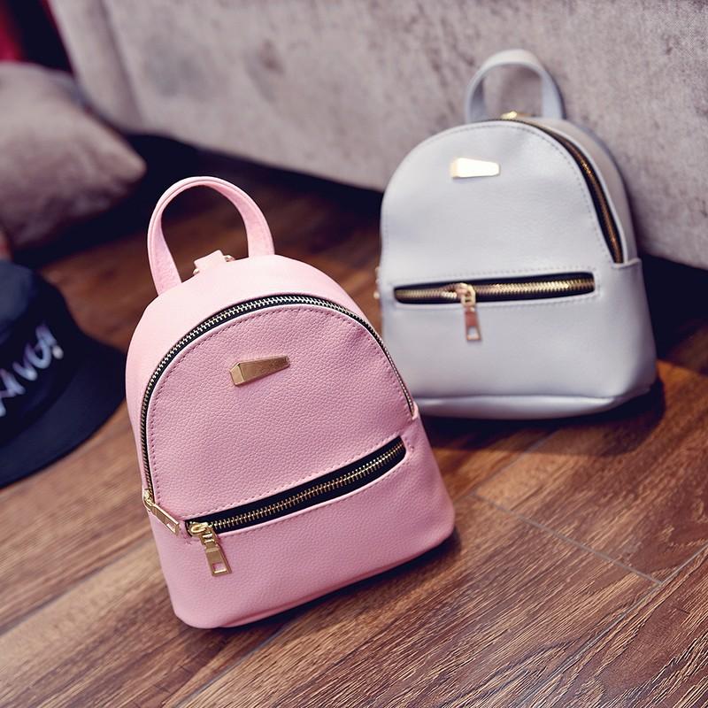 Small Fashion Rucksack Hotsale Women Shopping Purse Ladies Joker Bookbag Travel Bag Student school Backpacks Mini Women Backpack 7