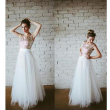 Pure White Tulle Long Skirts Wedding Party Maxi Skirts High Quality Satin Waist A Line Floor Length Skirts Custom Made