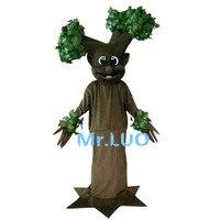 Моделирование оставляет дерево Талисман костюмы/коричневый дерево Талисман костюм/дерево прогулочные костюмы