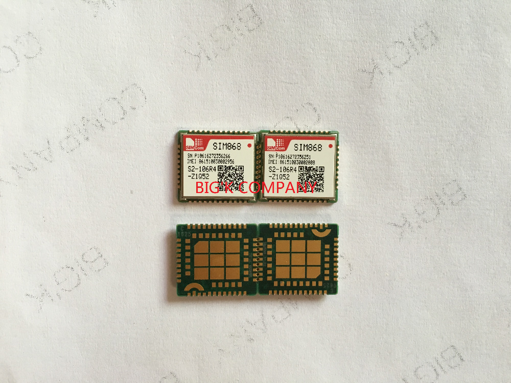 JINYUSHI FOR SIM868 GPRS GPS 100 New Original In the stock Embedded quad band module instead