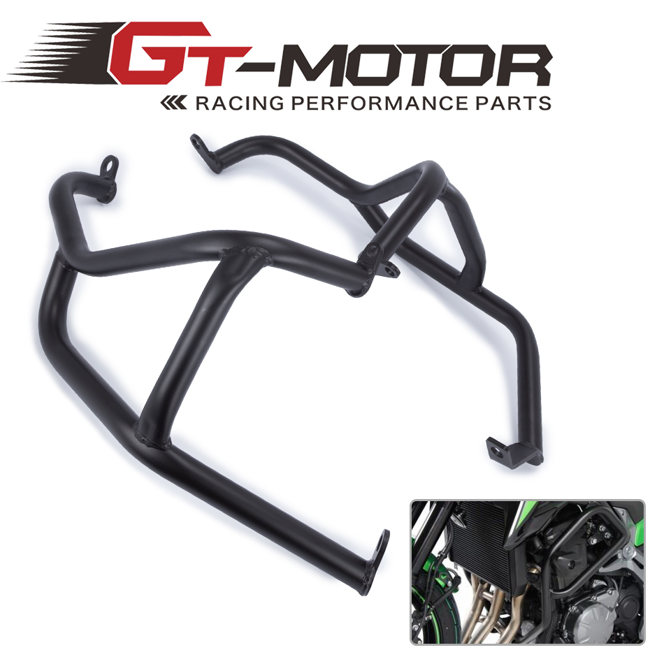 GT Motor for KAWASAKI Z900 Z 900 2017 Black Engine Guard Crash Bar Protector