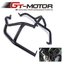 GT Motor For KAWASAKI Z900 Z 900 2017 Black Engine Guard Crash Bar Protector