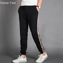 2017 nueva moda para hombre pantalones de color decorado rayas pierna  pequeña apertura pantalones deportivos hip hop desgaste de. 3898b88b3c1
