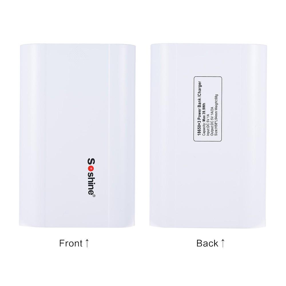 Power-Pack-w-Dual-USB-Port-Soshi2323ne-E5-Portable-Intelligent-LCD-Display-3-Slots-18650-Battery