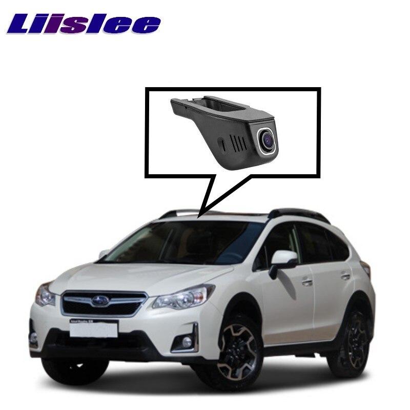 LiisLee черного ящика WiFi автомобиля видеорегистратор тире камеры вождения видео рекордер для Субару XV ГДЖ ГП Г4 Г5 2011~2017