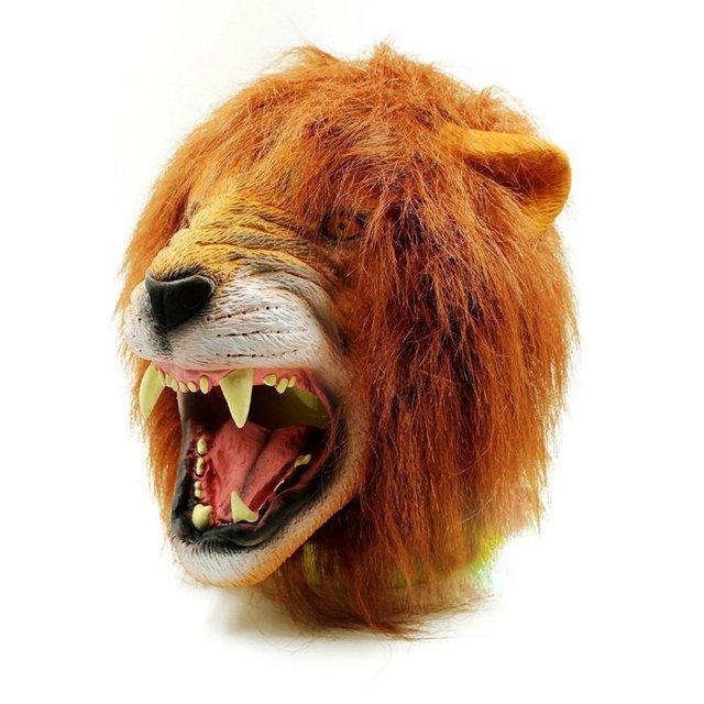 Angry Lion Head Masks