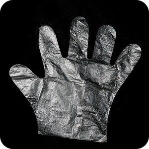 Image 5 - 1 팩 50/100pcs 에코 친화적 인 주방 장갑 일회용 체육 장갑 일회용 청소 장갑 음식 청소 요리 손 장갑