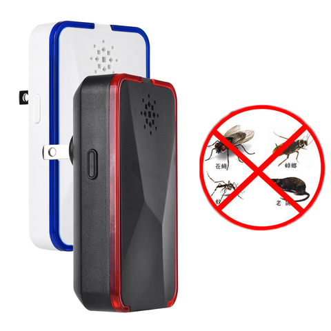 EU UK US PLUG Electronic Ultrasonic Pest Repeller Mosquito Rejector Mouse Rat Mouse Repellent Anti Mosquito Repeller Killer Tool Pakistan