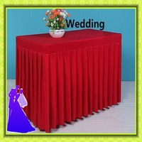 Free shipping polyester rectangle table cloth for wedding cloth cheap for sale