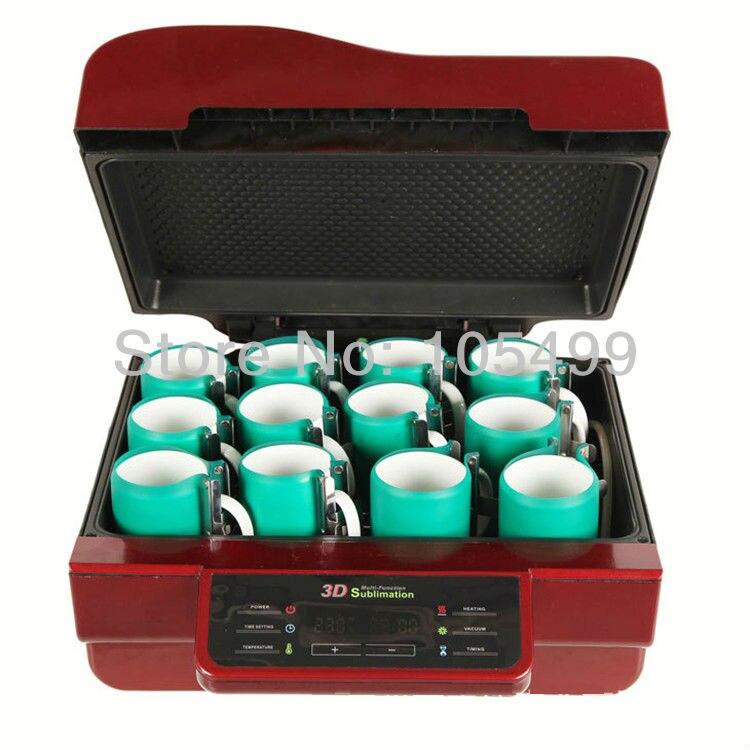3D Multifunctionele Sublimatie Heat Press Machine/3D Vacuüm Sublimatie Warmte overdracht Machine/Iphone case Vacuüm Druk - 4
