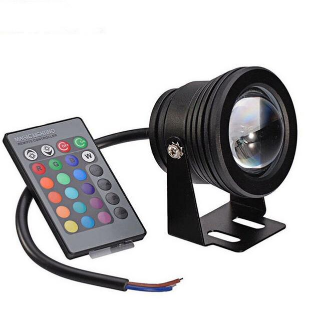 underwater RGB Led Light 10W RGB for swimming pool pond piscina aquarium fountain water lighting onder water 12V IP67 - 4