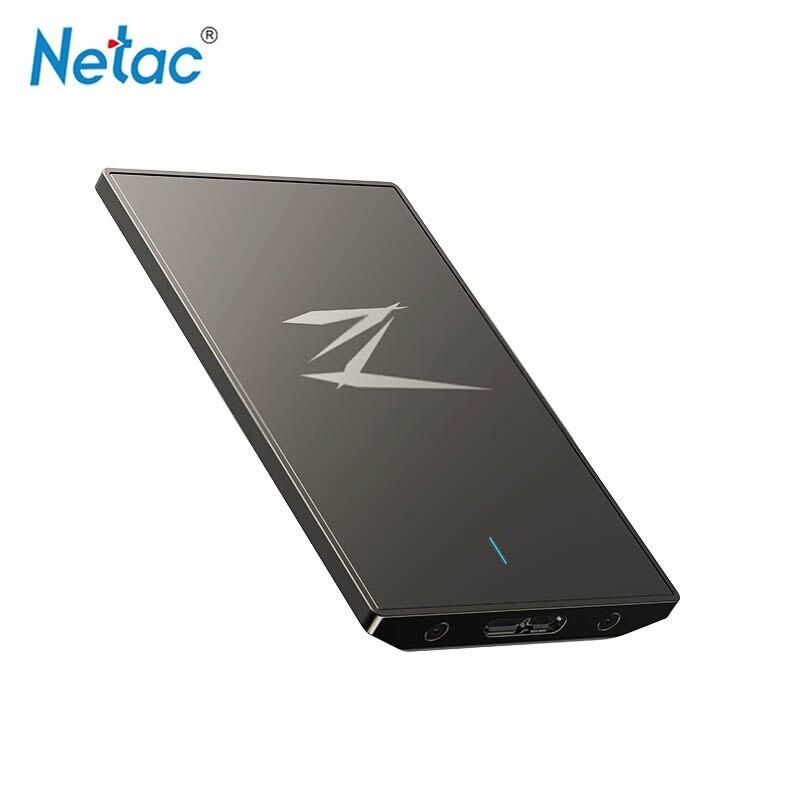 Netac Z1 SSD 128G 256 GB 512G msata hdd 2.5 SATA USB 3.0 disque dur externe disco duro externo pour ordinateur portable tablette Mac