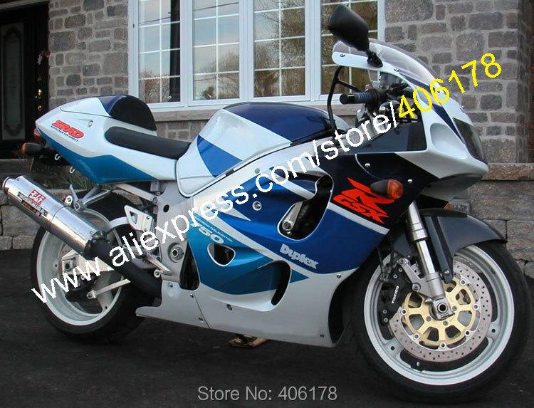 Vendas quentes, Para Suzuki SRAD GSXR600 GSXR750 96 97 98 99 00 GSX-R600 GSX-R750 1996 1997 1998 1999 2000 ABS Da Motocicleta Carenagem kit