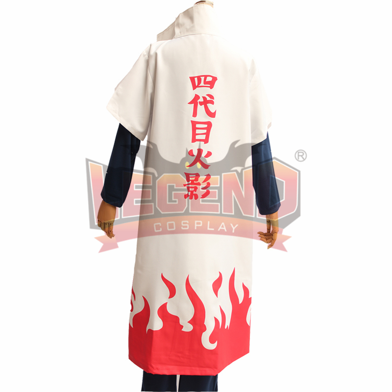 Cosplay legend Naruto cape Yondaime 4th Hokage only Cloak cosplay adult costume cape