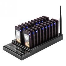 SU 68G restauracja Pager 20 kanałów 1KM bezprzewodowy System wywołujący kelner Pager zadzwoń do klienta dla restauracji pagery kościelne