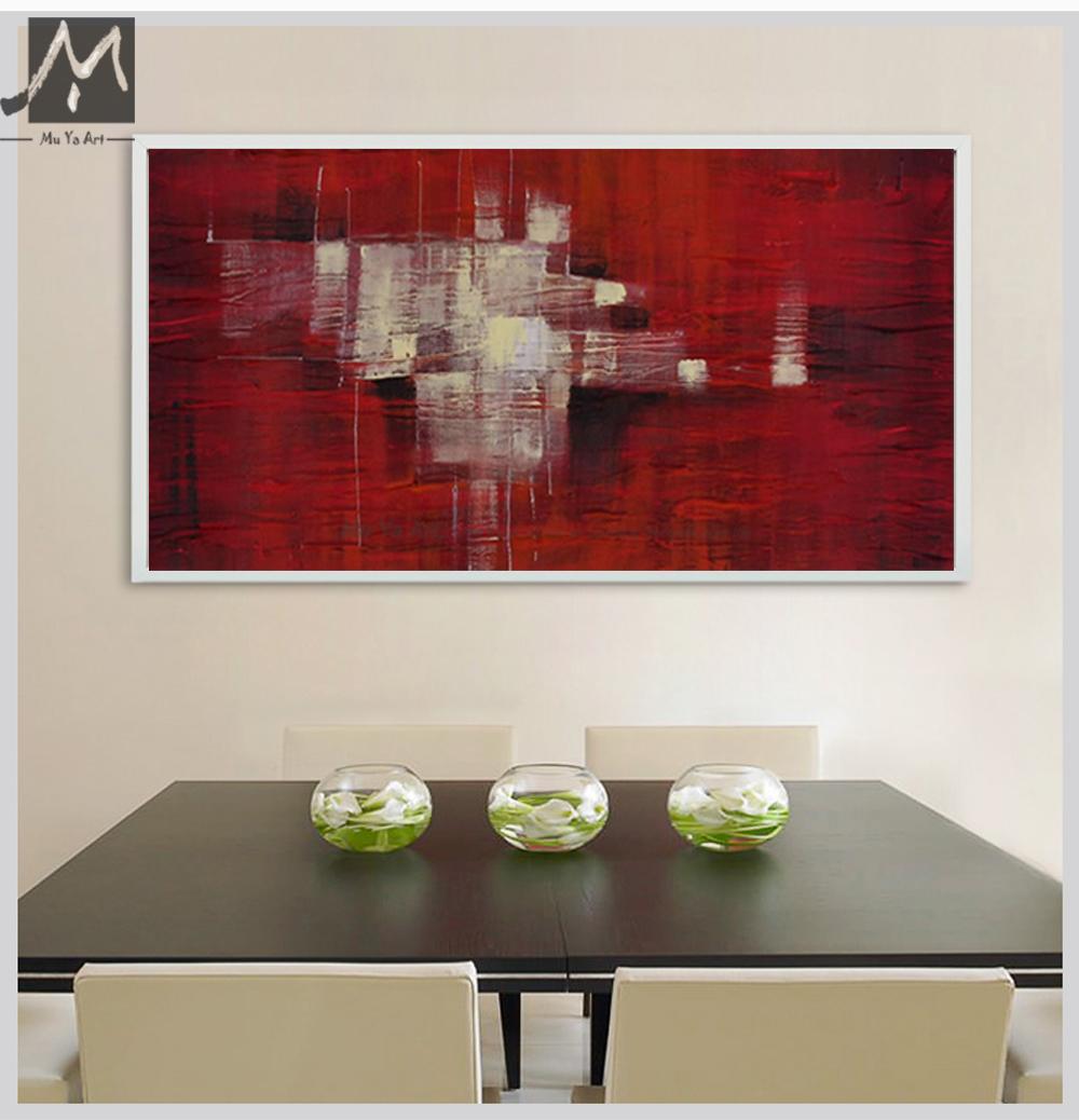 Große wand bilder von abstrakte gemälde moderne abstrakte acryl ...