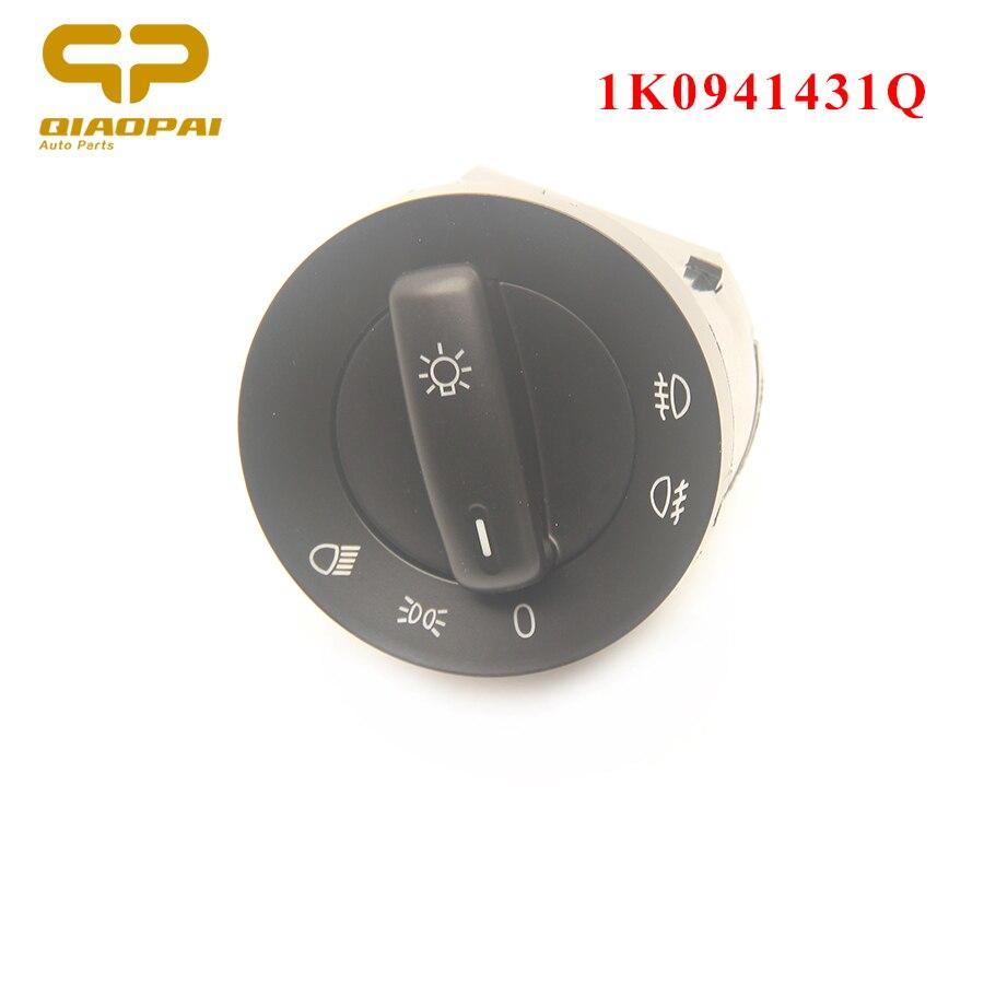Auto Headlight Switch Fog Lamp Switch Control 1K0941431Q For VW Golf MK5 6  MK3 Tiguan Passat