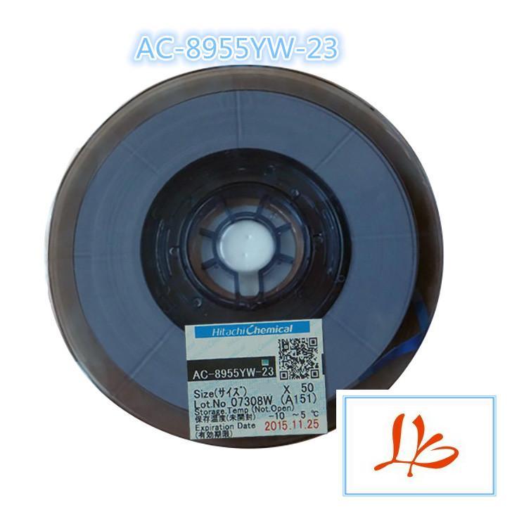 Original ACF AC-8955YW 1.5MM*50M TAPE (New Date) original acf ac 11800y 16 1 0mmx100m tape