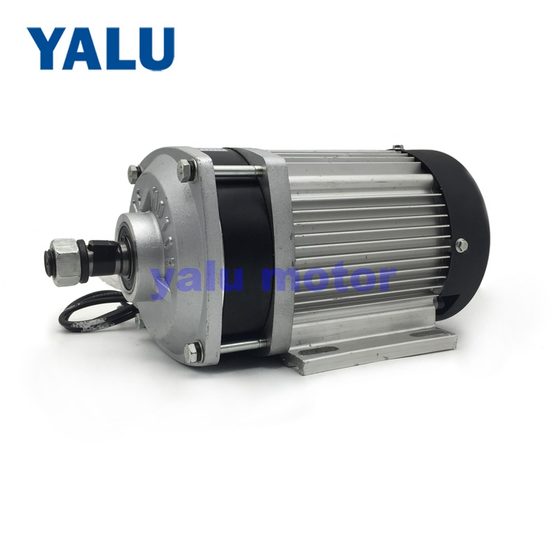 цена на BM1412ZXF 1200W 48/60V Prototype of Electric GoKart Brushless Electric Tricycle DC Motor For Electric Car Three Wheel Engine Kit