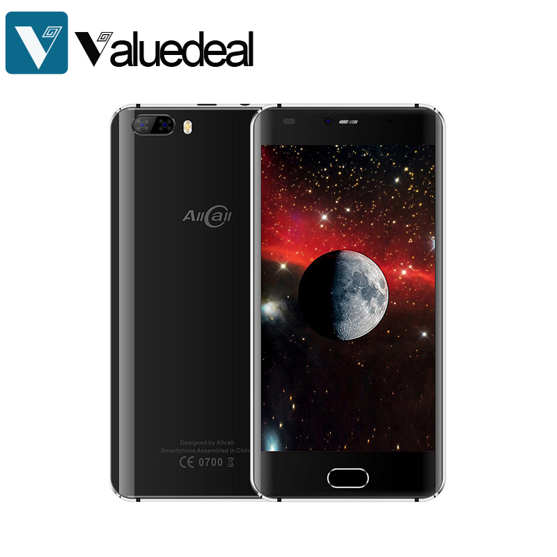In stock AllCall Rio 5.0 Inch Smartphone Dual Rear Camera 16GB ROM MTK6580A Quad Core Android 7.0 phone