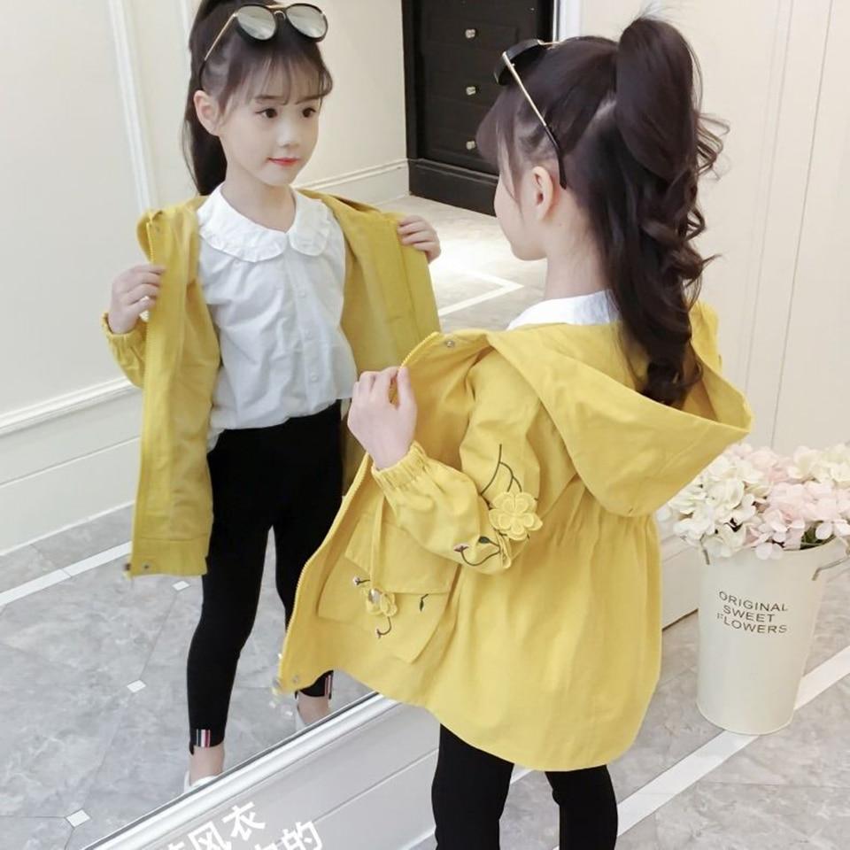 Однотонные куртки с капюшоном для девочек 4 12 лет, пальто, верхняя одежда, куртка для маленьких девочек, детская мягкая теплая Симпатичная детская одежда|Куртки и пальто| | АлиЭкспресс