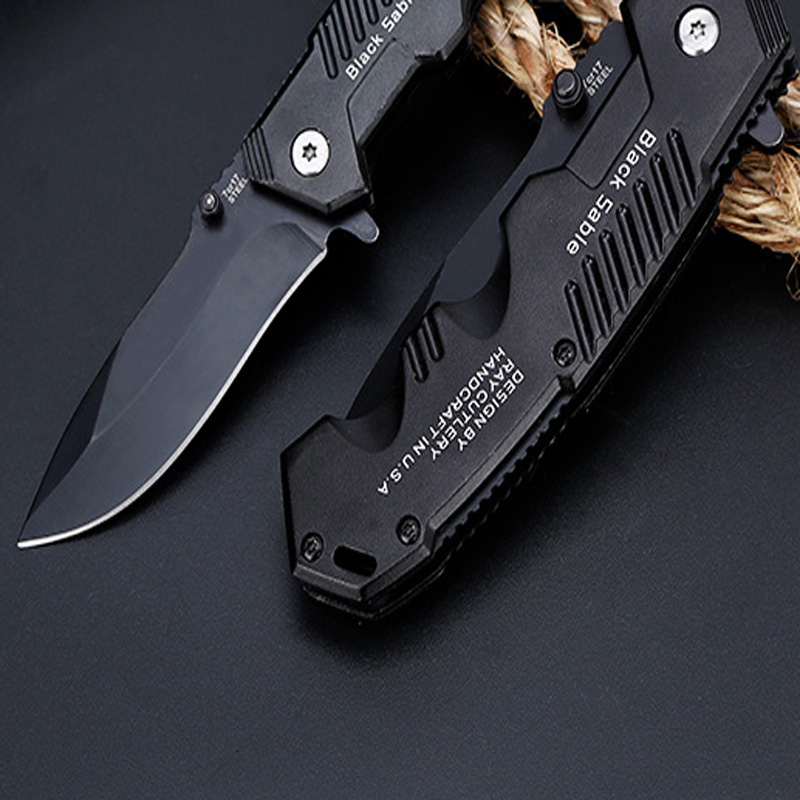 Image 2 - Hot Outdoor Tactical High Hardness Knife Wild Survival Multi function Folding Knife Hunting Self defense Outdoor Knives-in Outdoor Tools from Sports & Entertainment