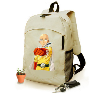 Anime ONE PUNCH-MAN Cosplay  Anime Student campus men and women backpack 1