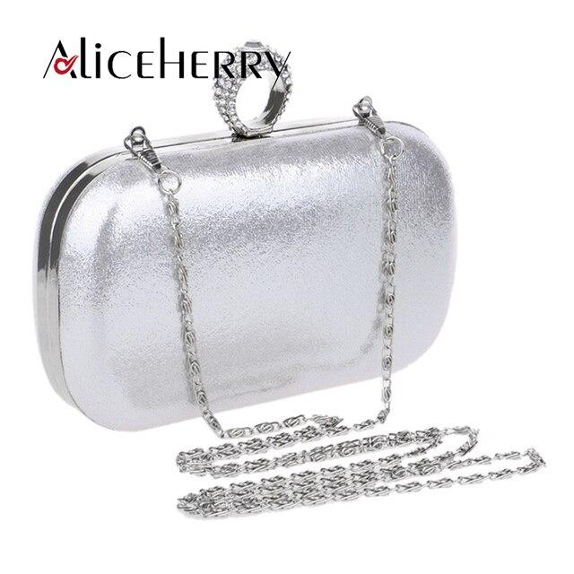 a6547c3cdc Women Evening Bag Gold Blue Black Red Silver Color Clutch Box Bags Women  Handbag Shoulder Crossbody Bags Bolsas Muje
