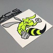 Multilayer del vinilo del coche decal sticker Super bee calidad a prueba de agua pegatinas especial para los coches de la motocicleta del barco del carro