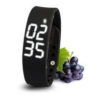 W2 Smart Watch Bracelet Smartband Mate Pedometer Sleep Monitor Thermometer Track Calories Burned Flex Fitness Pulsera