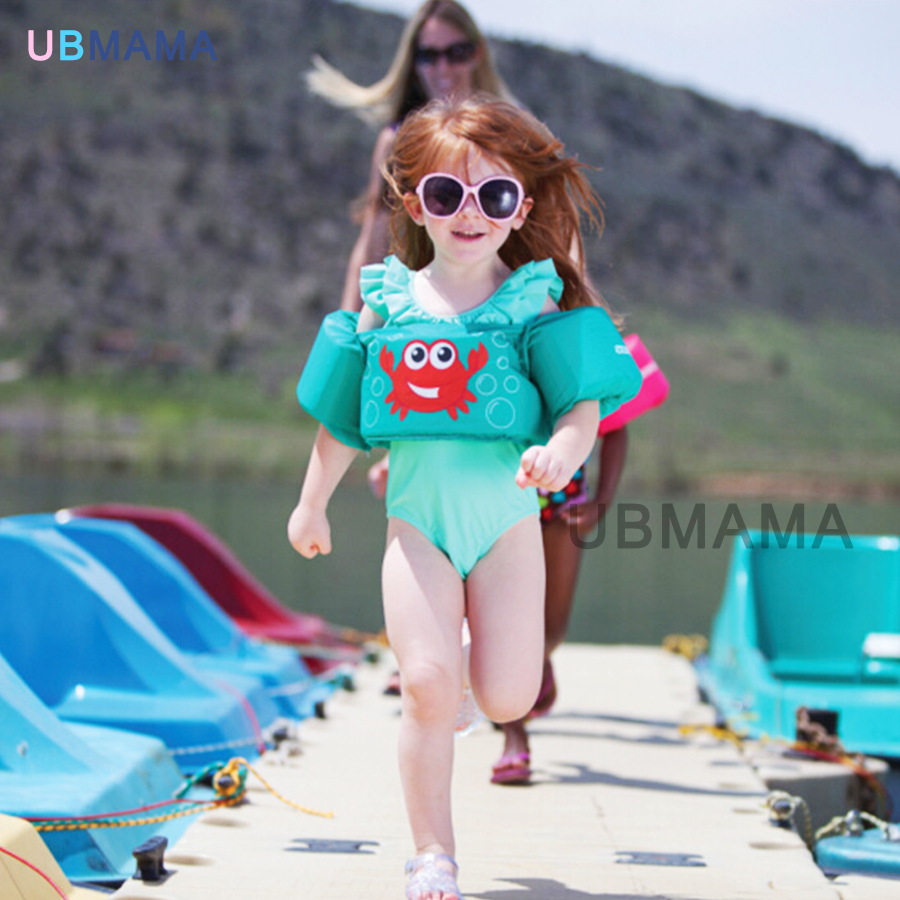 Best children Swim jacket baby float vest kids safety swim vest children waistcoat swimming baby float product buoyancy vest цена и фото