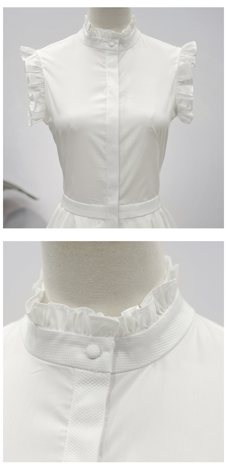 c8f7d51348 New Runway Designer Mini Dress Cotton Women Irregular 2018 Summer ...