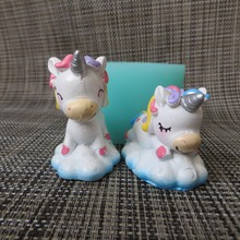 PRZY 3d Cute unicorn dreaming silicone mold fondant mould chocolate mousse cake molds candle moulds resin clay mol