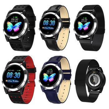 PPG ECG Monitoring Bluetooth Smart Watch Sport Mode Bracelet Fitness Tracker For Boy Girls Android iOS Apple iPhone Samsung