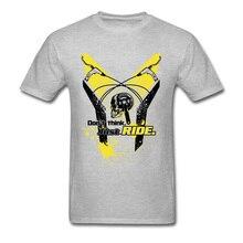Lasting Шарм не думаю, что просто покататься спортивные футболки для Для мужчин нормальный Футболки День святого Валентина Crewneck Спортивная рубашка