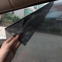 2pcs/lot 72*51CM UV Sticker Car Sunshades Electrostatic Sticker Side Window Sunshades Sunscreen Film Sticker Car Cover Styling(China)