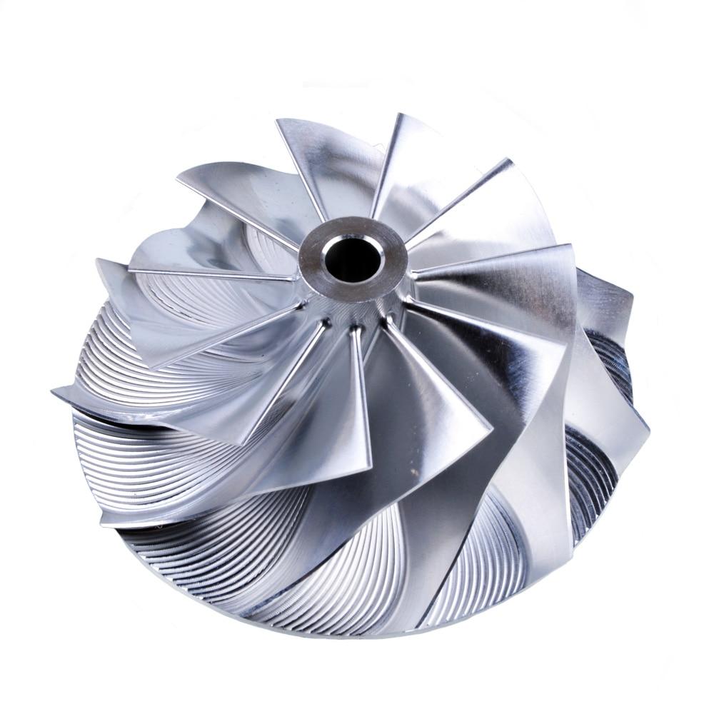 Kinugawa Turbo Billet Compressor Wheel 52.56/68.01mm 11+0 Reverse for Mitsubishi TD05 TD06 20G kinugawa turbo billet compressor wheel 42 2 60 4mm 10 0 trim 49 for garrett gtx2860