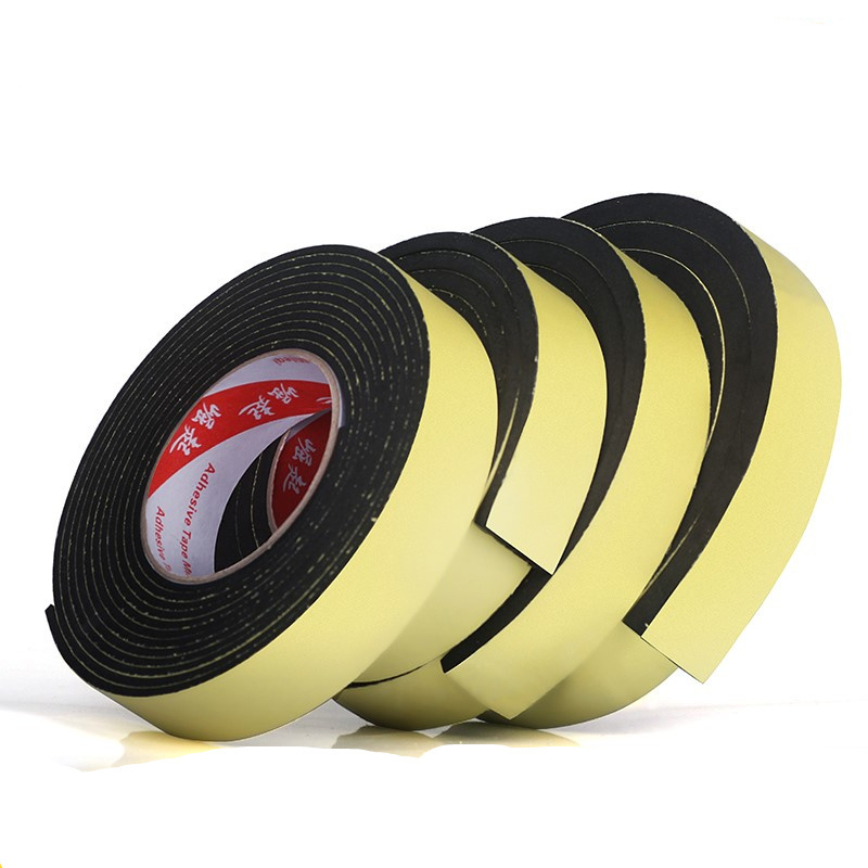 5 Meter EVA Single Sided Adhesive Waterproof Weather Stripping Foam Sponge Rubber Strip Tape For Window Door Seal Home Hardware