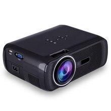 ECsee 1800 Люмен 800×480 1080 P Full HD LCD LED Домашний проектор Портативный Видеопроектор поддержка 23 языков VGA HDMI А. В.