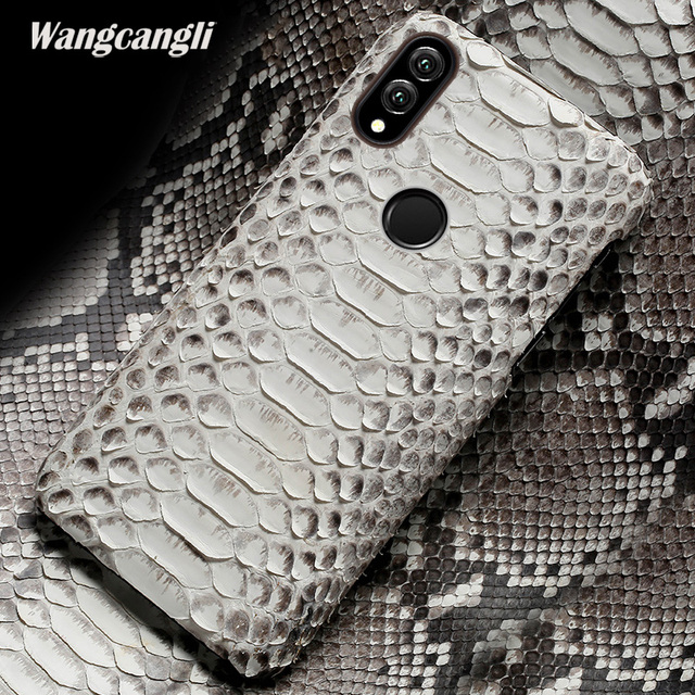 Leather python skin cover back cover For HUAWEI note 10 case python skin high-end custom phone case for huawei p20 10 9 lite