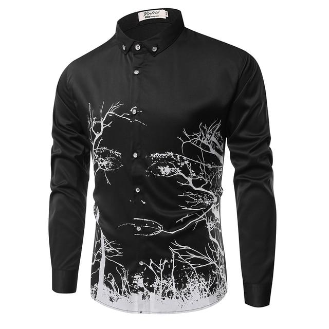2016 nueva ropa de los hombres, camisas de manga larga, Camisas casuales