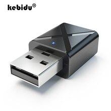 Kebidu автомобильный Bluetooth передатчик приемник V5.0 3,5 мм AUX стерео беспроводной Bluetooth адаптер Bluetooth передатчик для телевизора