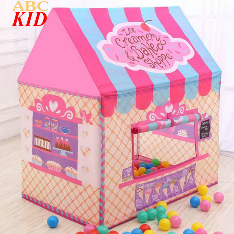 New Arrival Baby Infants Chateau Tent Toys Indoor Outdoor Play House Baby Girl Princess Toy Tents