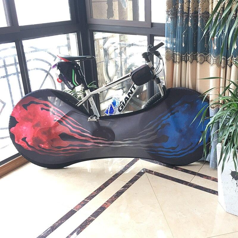 26 pulgadas bicicleta de montaña ruedas de bicicleta de carretera a prueba de polvo a prueba de arañazos cubierta interior equipo de protección para bicicletas camisa de los hombres