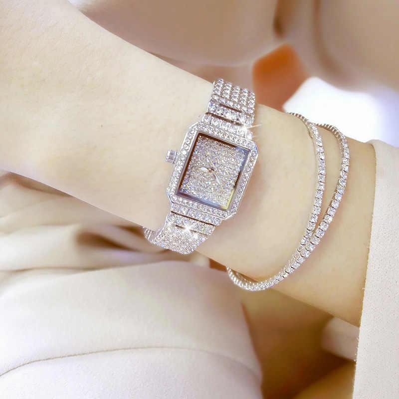 2017 женские кварцевые часы Роскошные элегантные часы под платье с бриллиантами Женские наручные часы Relogios Femininos saat женские часы ZDJ