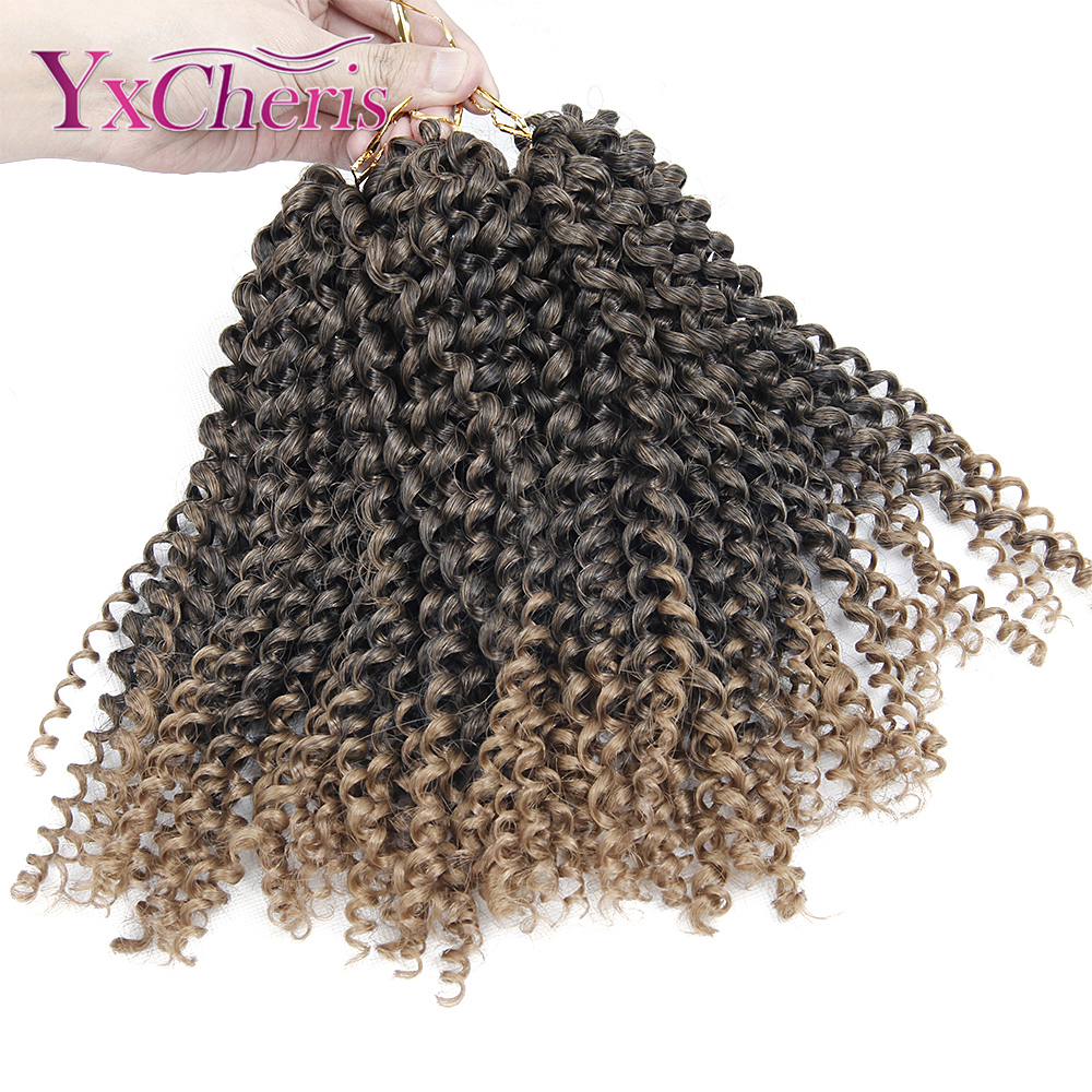 Synthetic braiding hair extensions Kinky Twist Hair Curly ...