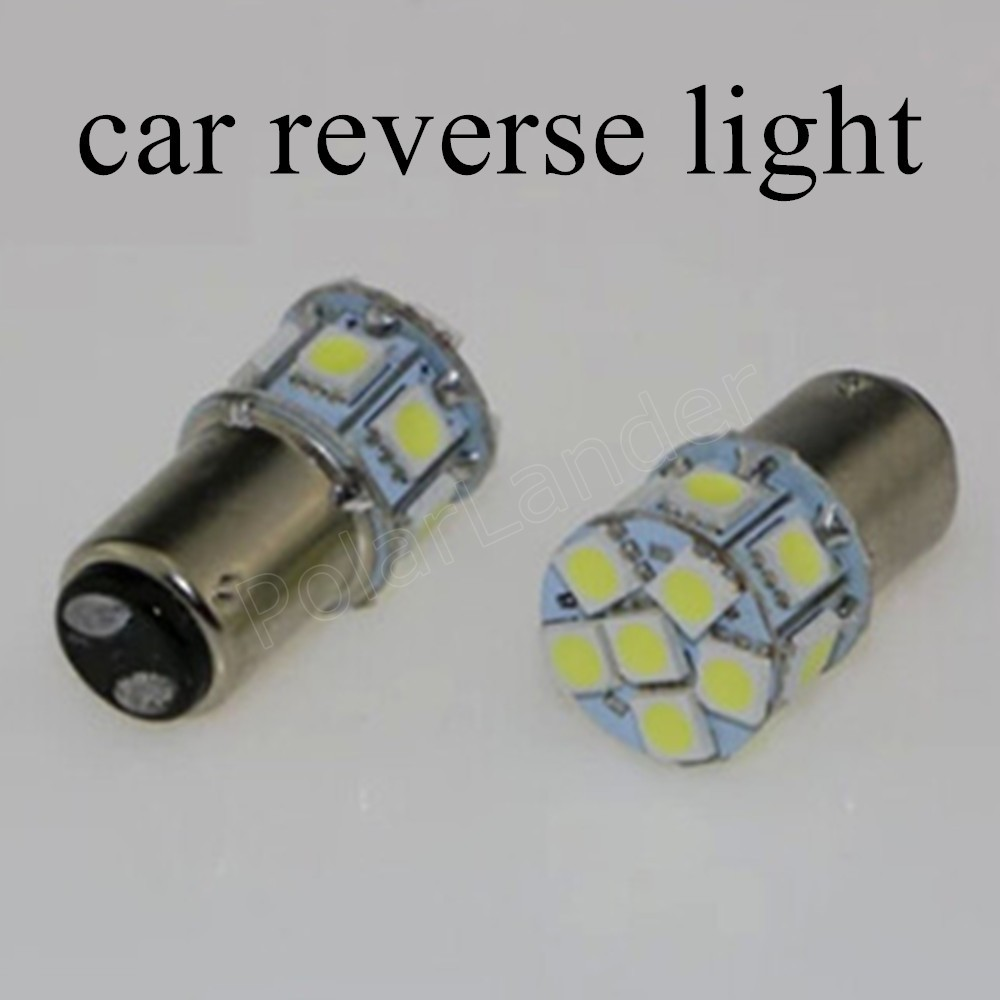 LED Car 12V 1156 BA15S Source Auto Turn Signal Reverse Light Interior Packing Lamp Car Styling 10 pieces hot sale